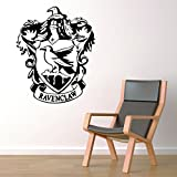 """Ravenclaw House Crest Hogwarts Harry Potter Decor - Wall Decal Vinyl Sticker W92 22""""x27"""" (Message for Color)"""