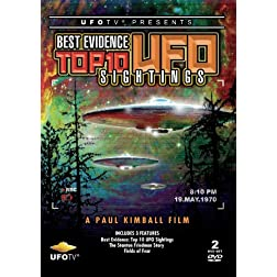 Best Evidence: Top 10 UFO Sightings 2 DVD Set