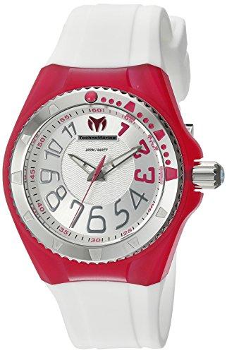 technomarine-cruise-damen-armbanduhr-armband-silikon-weiss-gehause-edelstahl-quarz-analog-tm-115225