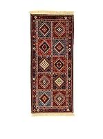 L'Eden del Tappeto Alfombra Yalameh Rojo / Multicolor 190  x  84 cm