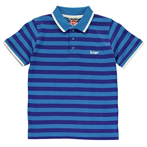 Lee Cooper -  Polo  - ragazzo Blue/Royal Small
