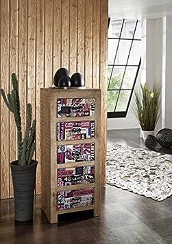 Maciza muebles de madera maciza mango de madera para pared cómoda de madera maciza lacada muebles Vintage Detroit #19
