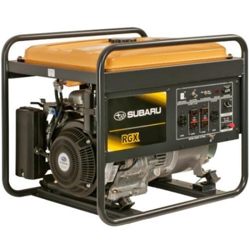 Subaru Rgx6500E Industrial Generator, 6500-Watt