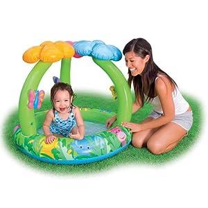 Intex Recreation Jungle Flower Baby Pool, Age 1-3