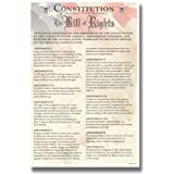The U.S. Constitution, Bill of Rights Classroom Poster