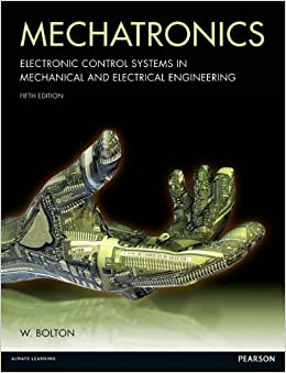 Mechatronics electronic control systems in mechanical and for Electrical motor controls for integrated systems fifth edition