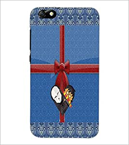 PrintDhaba Cartoon D-2496 Back Case Cover for HUAWEI HONOR 4X (Multi-Coloured)