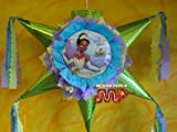 """PINATA The Princess and The Frog Piñata Hand Crafted 26""""x26""""x12""""[Holds 2-3 Lb. Of Candy][for Any Ocasion]"""