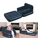 BESTWAY INFLATABLE MULTI-FUNCTION SINGLE AIR BED CHAIR SOFA COUCH
