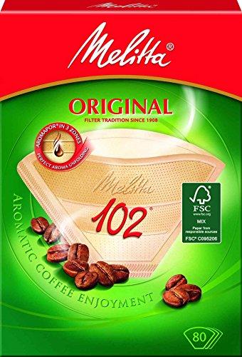 Melitta 102, Aroma Zones, Filtri per caffè, 80 pz.