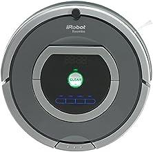 iRobot Roomba 782 Staubsaug-Roboter (30 Watt, XLife Akku, 7 Programmzeiten) grau