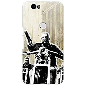 a AND b Designer Printed Mobile Back Cover / Back Case For Huawei Nexus 6P (Nexus_6P_3D_1963)