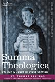 Image of Summa Theologica, Volume 4 (Part III, First Section)