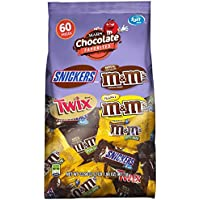 MARS Chocolate Favorites Fun Size Variety Mix Candy Bars (60-Piece Bag)