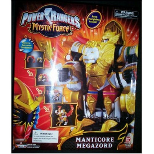 Power Rangers Mystic Force - Manticore Megazord with Battery Operated Auto-Morph Action