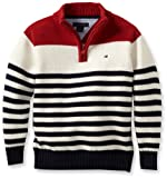 Tommy Hilfiger Boys 2-7 Roy Quarter-Zip Sweater