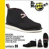 (ドクターマーチン) Dr.Martens 2ホール デザートブーツ [ブラック] R14369002 NIXON キャンバス メンズ レディース UK4(約22.5~23.0cm) BLACK(並行輸入品)
