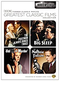 Tcm Greatest Classic Films Collection Murder Mysteries The Maltese Falcon The Big Sleep Dial M For Murder The Postman Always Rings Twice 1946 from Turner Home Ent
