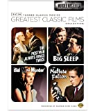 TCM Greatest Classic Films Collection: Murder Mysteries (The Maltese Falcon / The Big Sleep / Dial M for Murder / The Postman Always Rings Twice 1946)