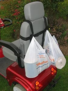 Sheerlines Wheelchair Or Mobility Scooter Carrier Bag Hook (Double)