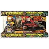 Zoo Med Laboratories SZMNTL10 Reptihabitat Leopard Gecko Kit, 10 Gallon