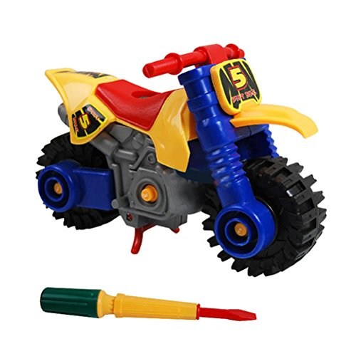 Owill Toy Gift Sets Fashion Disassembly motorcycle Design Educational toys for children Kids (Motorcycle Toy Trailer compare prices)