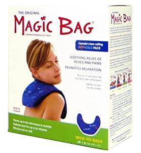 Magic Bag Neck To Back Hot/Cold Pack, 44 Ounce