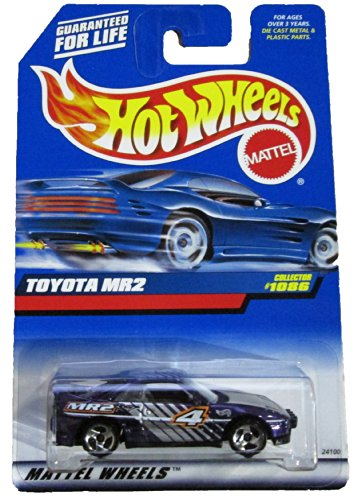 Mattel Hot Wheels 1999 1:64 Scale Purple Toyota MR2 Die Cast Car Collector #1086 - 1