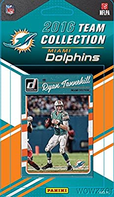 Miami Dolphins 2016 Donruss NFL Football Factory Sealed Limited Edition 12 Card Complete Team Set with Ryan Tannehill, Ndamukong Suh, Legend DAN MARINO & Many More! Shipped in Bubble Mailer!
