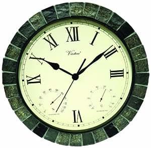 Poolmaster 52606 15 clock thermometer for Garden treasures pool clock