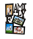 Pindia Wooden 4 Photo Family Picture Frame Collage Wall Hanging