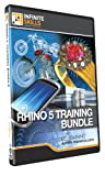 Discounted Bundle - Rhino 5 Tutorial DVD - Over 26 hours of Training