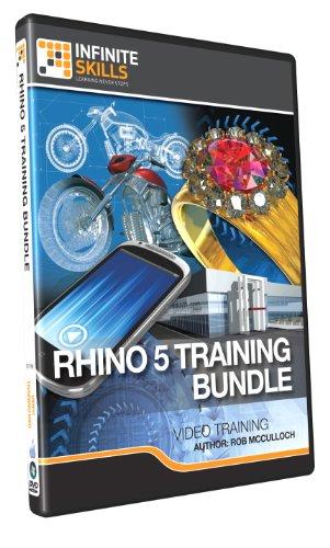 Infinite Skills Rhino 5 Training Bundle Tutorial DVD - Video Training (PC/Mac)