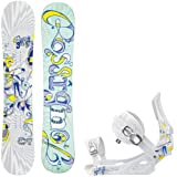 Rossignol Frenemy Magtek 147 Ladies Snowboard + Rossignol Frenemy Bindings - Fits Boot... by Rossignol