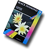 50 Sheets - Black Diamond White A3 220gsm Matt Canvas Inkjet Paper for Professional Photographic and Art prints (Please NOTE: This is NOT 100% Cotton Canvas)