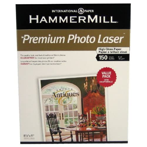 Amazon.com : HammerMill Premium Photo Laser High Gloss ...