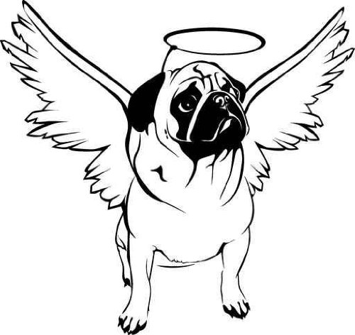 pug coloring pages - photo#11