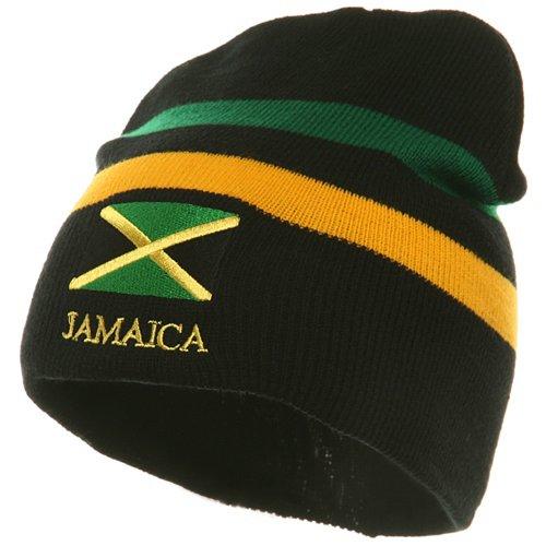 Rasta Beanie-Jamaica W28S16C