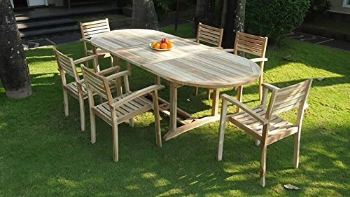 talfa Teak Gartenmöbel Stuhl Set Palem (2x) jetzt kaufen