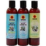 Tropic Isle Living Jamaican Black Castor Oil Hair Care Combo Set-II