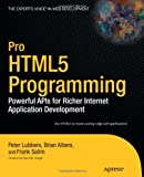 Pro HTML5 Programming