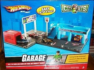 Hot Wheels City Sets Garage Playset