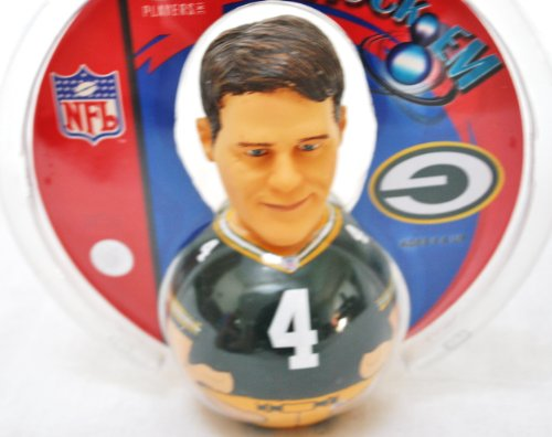 Green Bay Packers official NFL Brett Favre Forever Collectibles Retro Rocker
