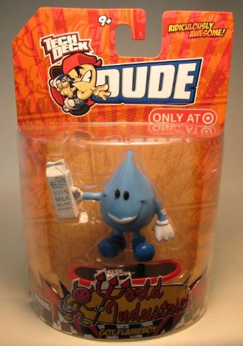 Picture of Tech Deck Dude Tech Deck Dude World Industries GOT FLAMEBOY Figure (B0035D3MMM) (Tech Deck Dude Action Figures)