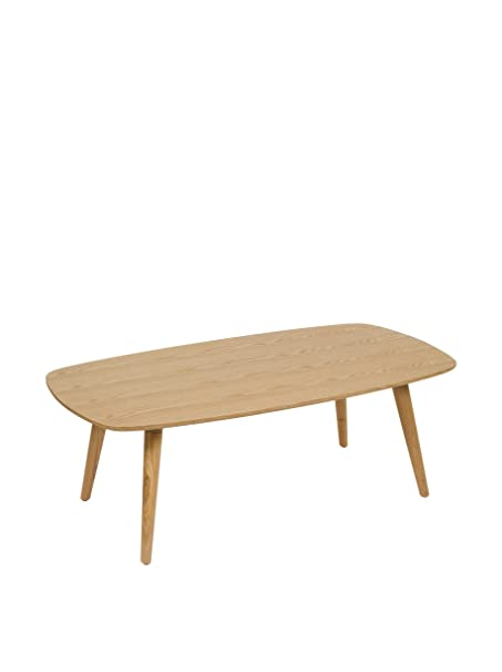 Contemporary Style Mesa De Centro Wood