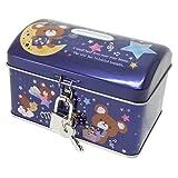 [貯金箱]鍵付き宝箱缶バンク/ミルクチョコ クーリア ギフト雑貨 かわいい グッズ 通販