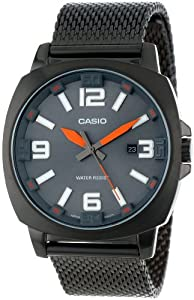 "Casio Men's MTP-1350CD-8A2DF ""Core Collection"" Big Face Analog Casual Watch"
