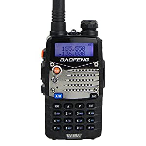 Baofeng UV-5RA トランシーバー デュアルバンド 136-174/400-480 MHz アマチュア無線機 並行輸入品