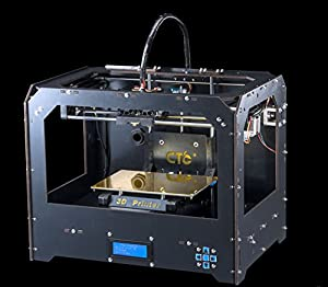 3d drucker 3d printer schwarz dual d sen desktop rapid computer zubeh r. Black Bedroom Furniture Sets. Home Design Ideas
