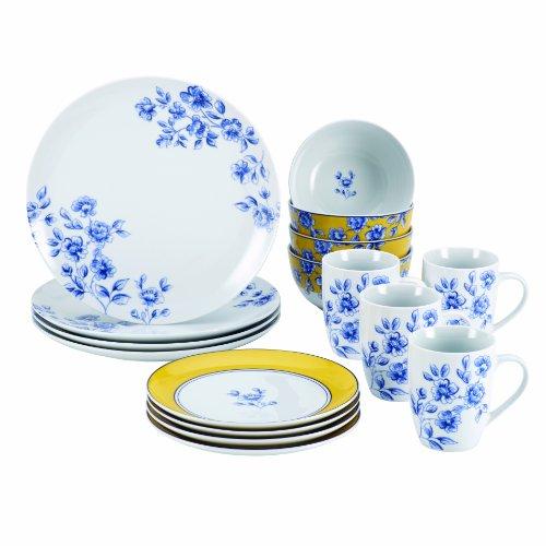 Paula Deen Signature Dinnerware Spring Prelude 16-Piece Dinnerware Set